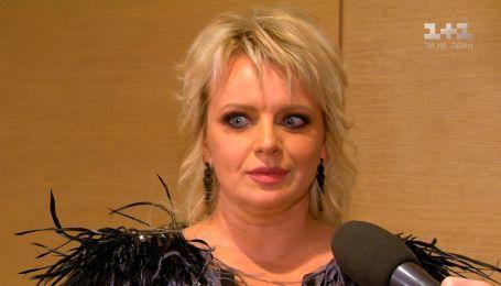 """Акторка Ірма Вітовська показала відверте декольте на кінопремії """"Золота дзиґа"""""""