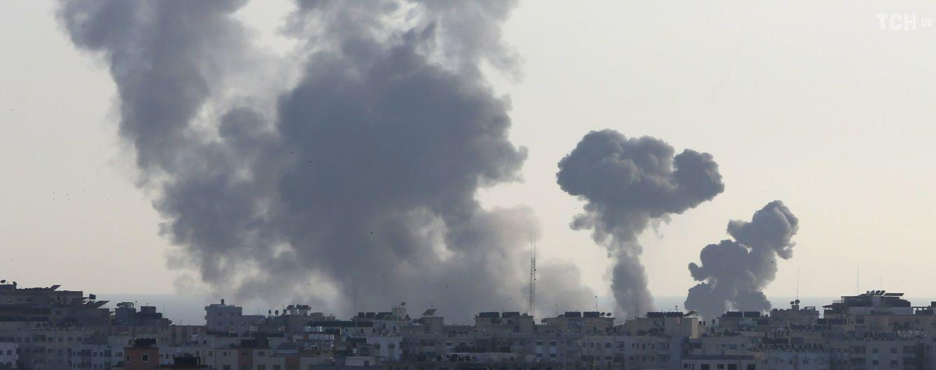 Армия Израиля нанесла несколько ударов по объектам ХАМАС в секторе Газа