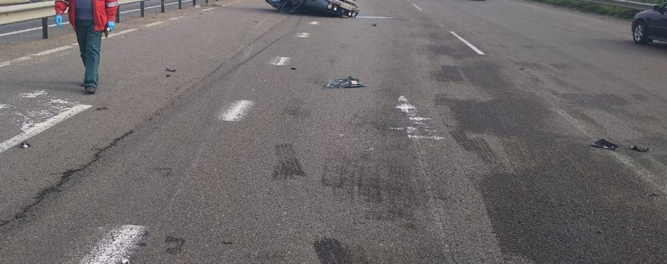 Смертельная ДТП. На трассе Киев-Одесса столкнулись два автомобиля