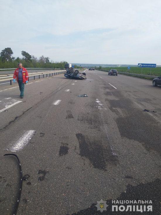 Смертельна ДТП. На траcі Київ-Одеса зіткнулися два автомобілі