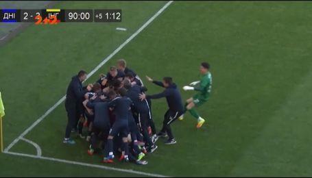 СК Днепр-1 - Ингулец - 3:3. Видео-обзор матча