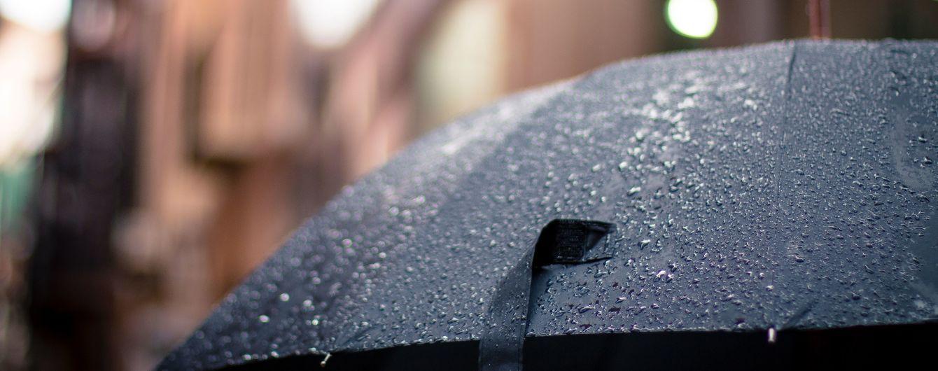 Погода на понеділок: в Україні вдень обіцяють дощі та грози