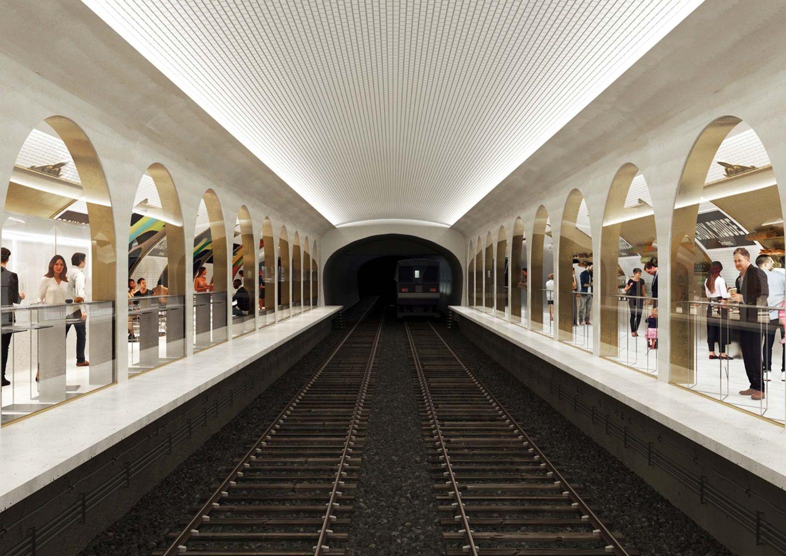 бар в метро париж