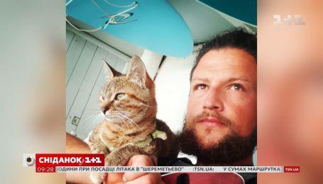 История встречи и дружбы путешественника Дина Николсона и его кошки Ланы