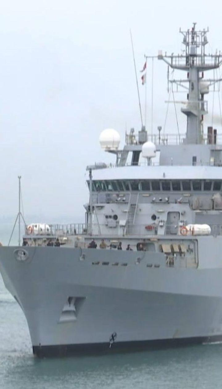 Разведывательный корабль ВМС Великобритании прибыл в Одессу для участия в совместных учениях