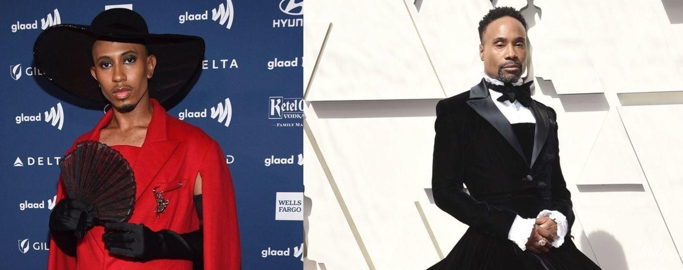 Чоловіки в жіночому одязі: битва красивих образів Калена Аллена і Біллі Портера