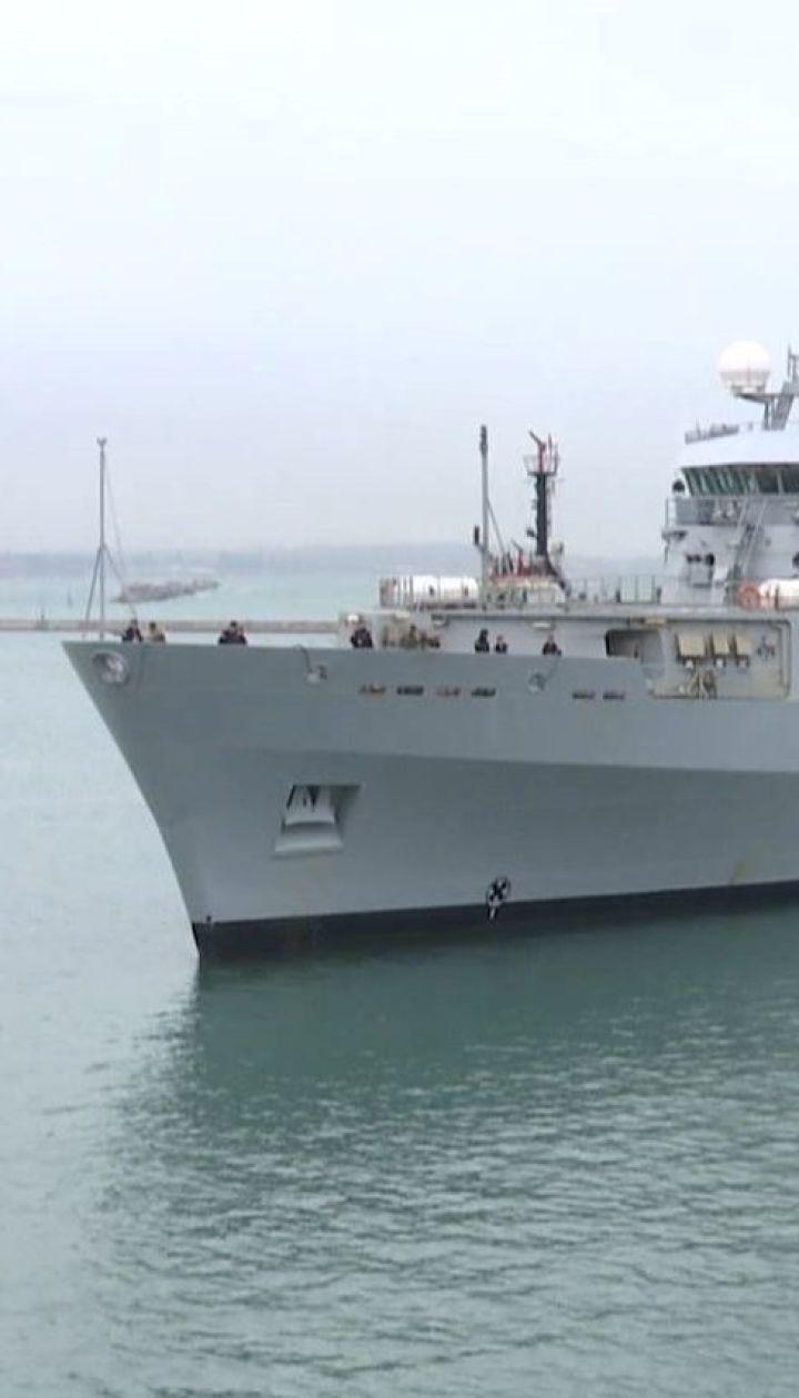 Велика Британія направила розвідувальне судно до Одеси для навчань з українськими кораблями