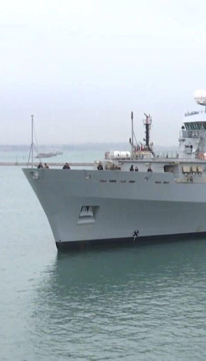 Великобритания направила разведывательное судно в Одессу для учений с украинскими кораблями