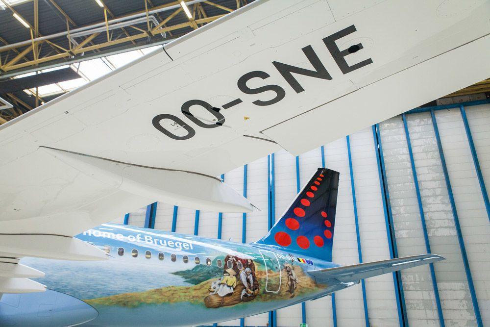 Brussels Airlines ливрея Брейгель