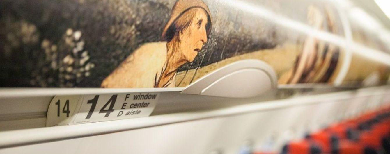 Brussels Airlines представил самолет в ливрее с изображением картин известного художника эпохи Возрождения