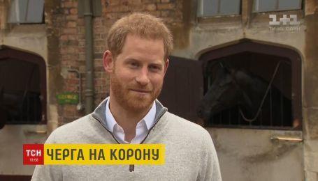 Принц Гаррі прокоментував народження первістка
