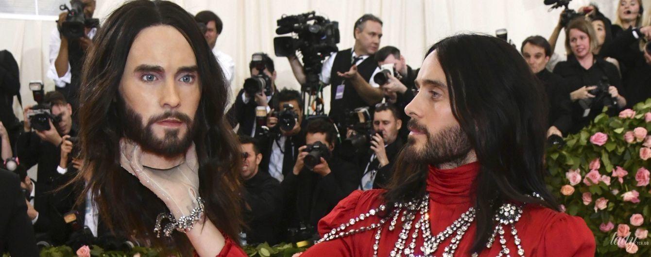 А голову ти вдома не забув: Джаред Лето прийшов на Met Gala-2019 в сукні і з головою