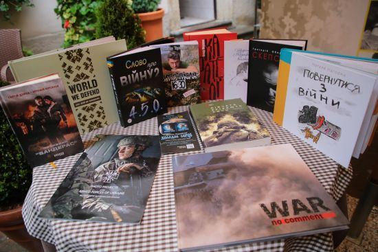 На Львівщині стартував перший в Україні форум військових письменників