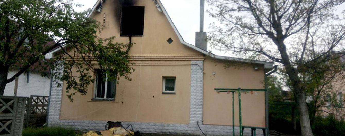 Под Киевом во время пожара погибла пятилетняя девочка