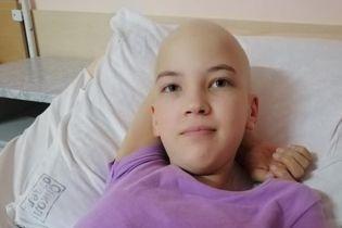 Рак поразил кость 13-летней Инны, ей нужна помощь