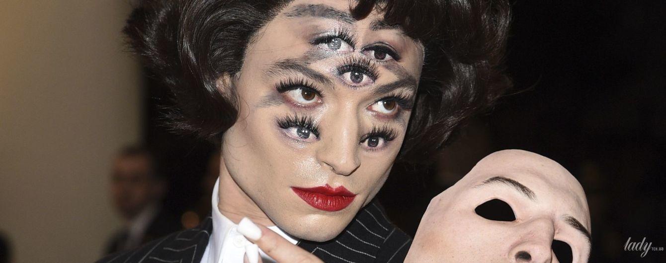 Сім очей і два обличча: феєричний образ Езри Міллера на Met Gala-2019