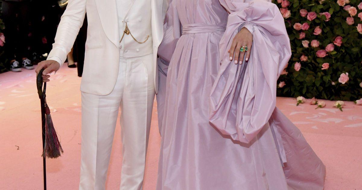 Бенедикт Камбербэтч с женой @ Associated Press