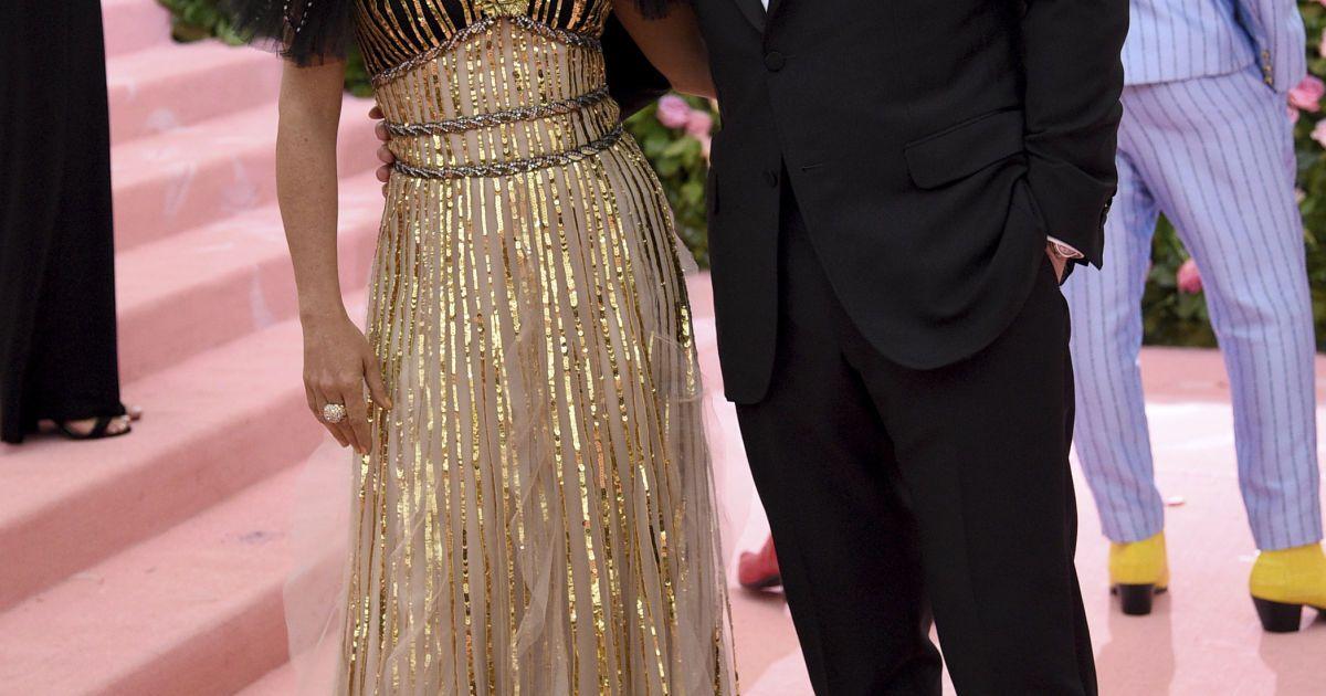 Сальма Гайек с мужем @ Associated Press