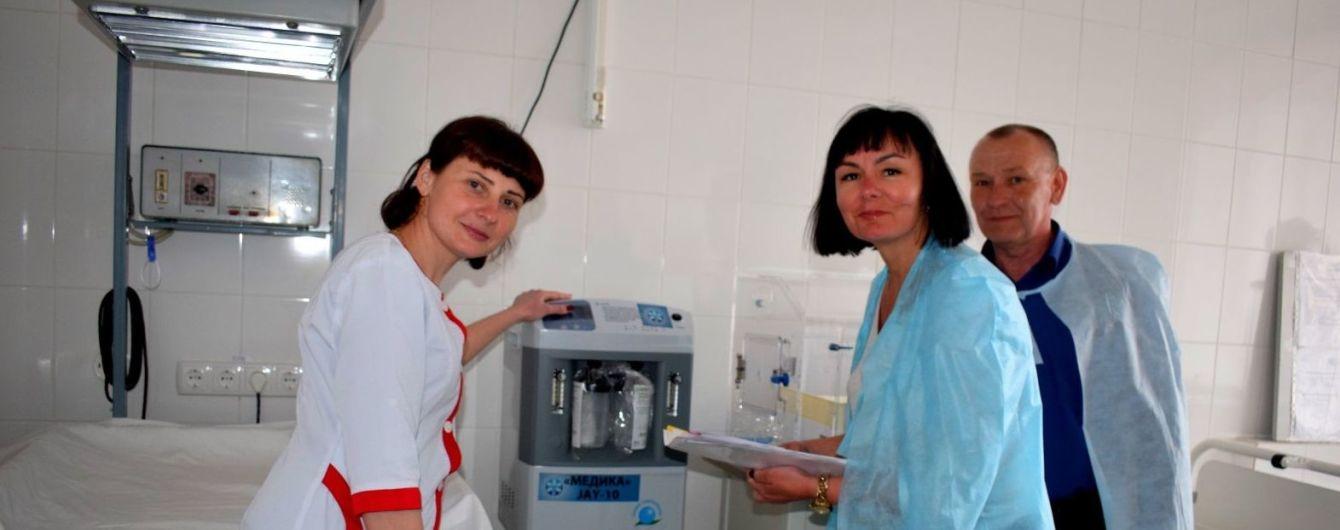 Фонд імені Хідірян Оганеса Мисаковича подарував Пирятинській лікарні кисневий концентратор