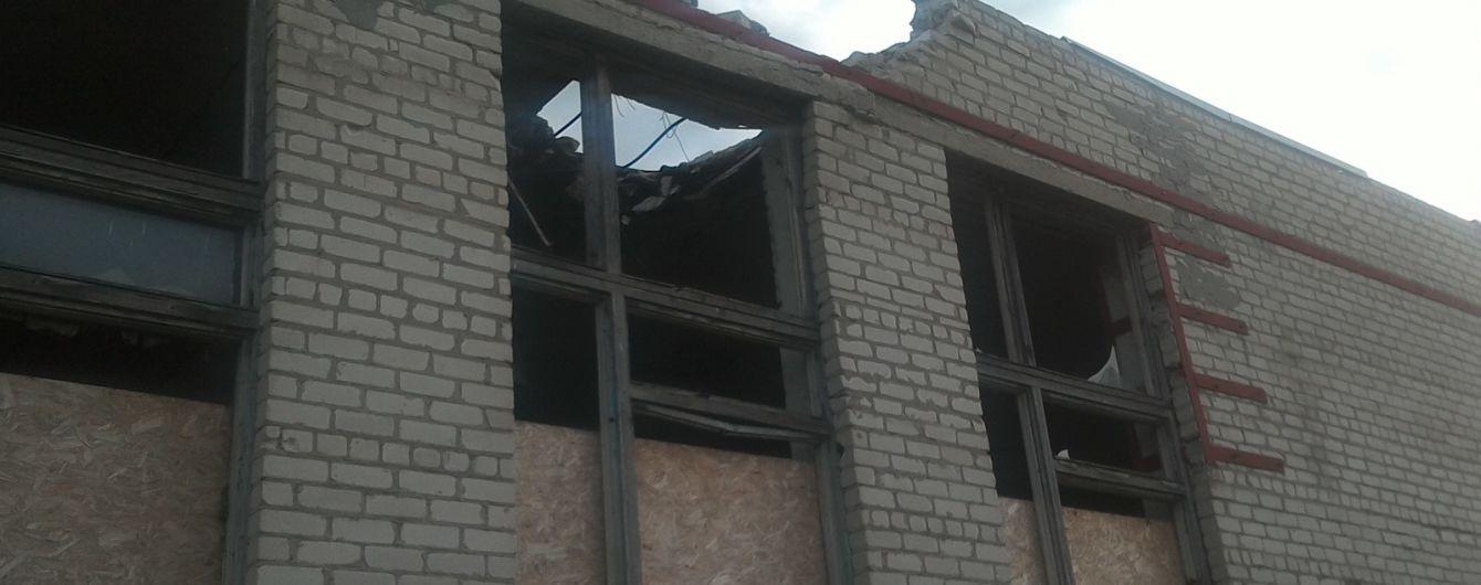 Боевики из запрещенного вооружения обстреляли населенный пункт на Луганщине