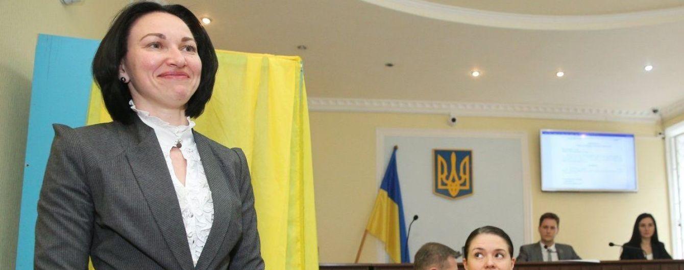 Во время тайного голосования была избрана глава Антикоррупционного суда