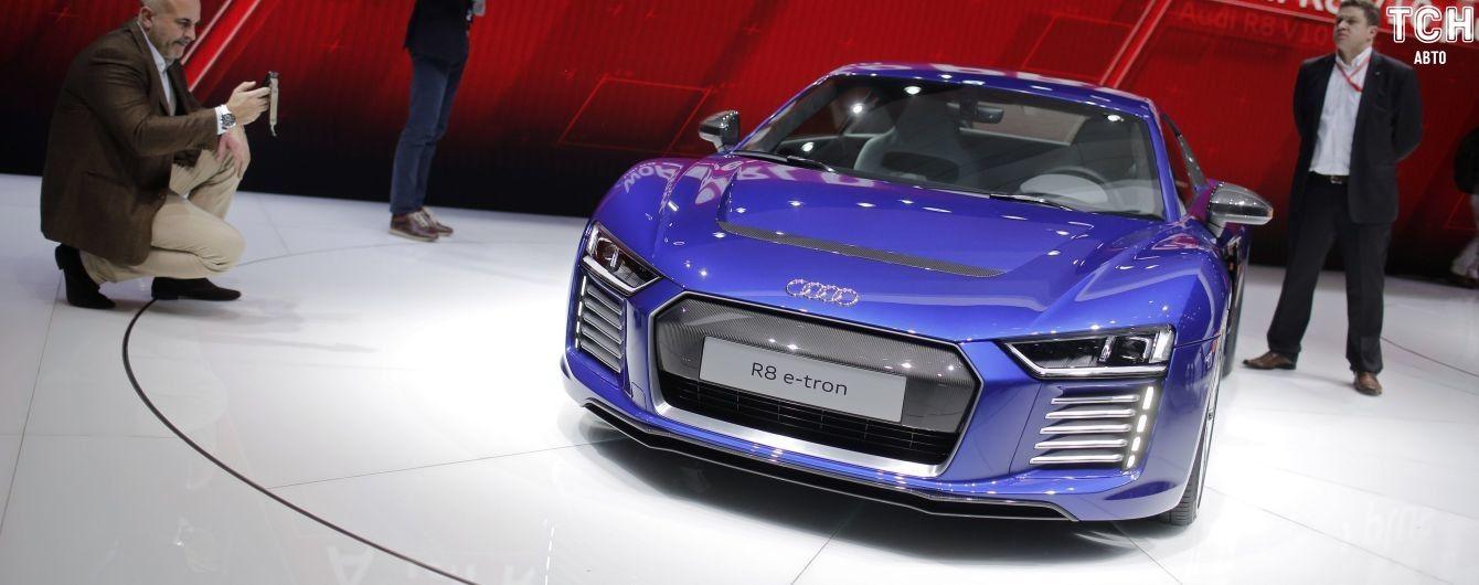 В Audi рассказали о выпуске электрогиперкара R8 e-tron