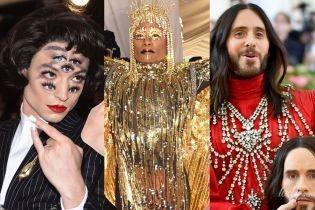 Дві голови, сім очей і золоті крила: битва епатажних образів на Met Gala-2019
