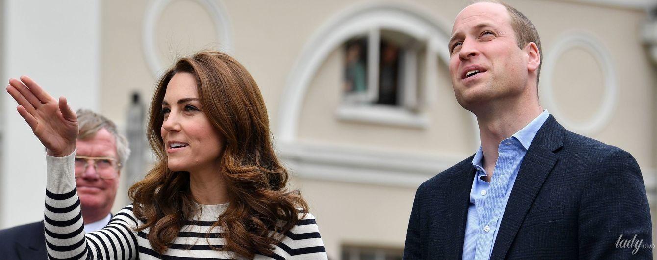 В морском стиле: герцогиня Кембриджская Кейт открыла регату