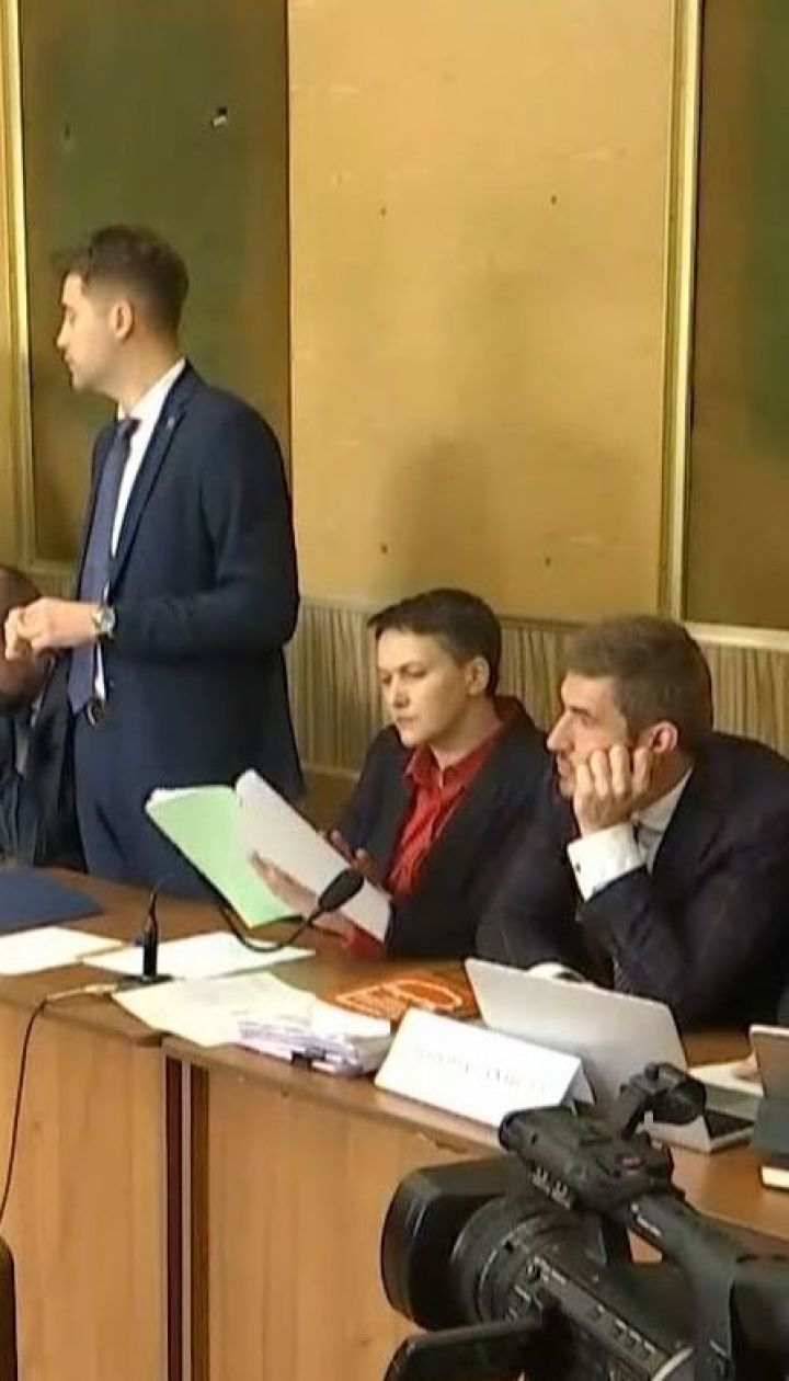 Обвиняемые в терроризме Савченко и Рубан остаются свободными до лета