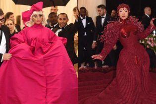 Битва суконь зі шлейфами на Met Gala: Леді Гага vs Cardi B