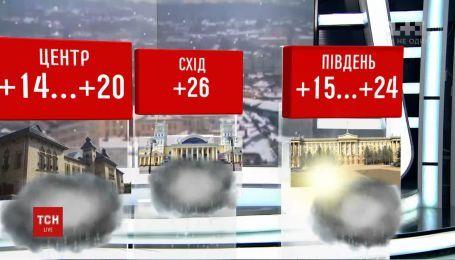 Климатические качели в Украине: запад будет мерзнуть, а на востоке - почти лето