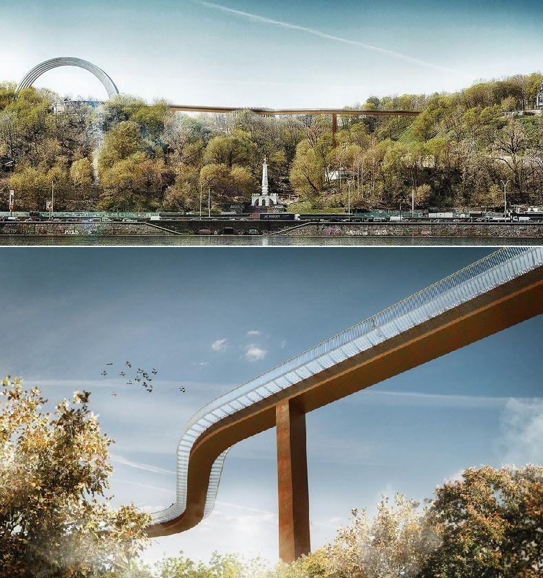 проект мосту Київ