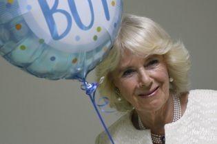 Камилла и шарик: герцогиня Корнуольская и принц Чарльз получают поздравления в честь рождения внука