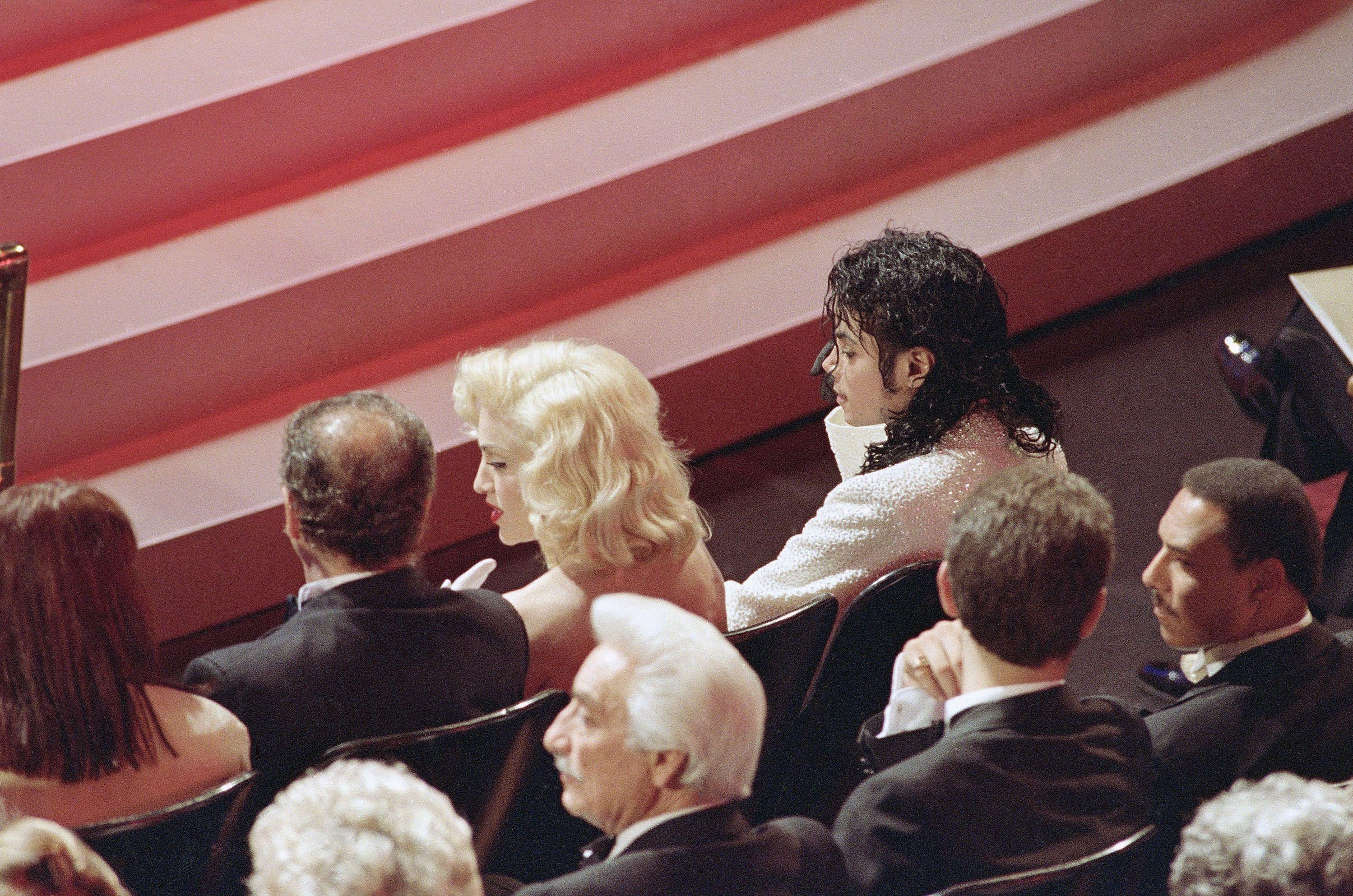 Мадонна і Майкл Джексон