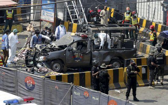 У Пакистані біля мечеті стався вибух: вісім загиблих, 25 поранених