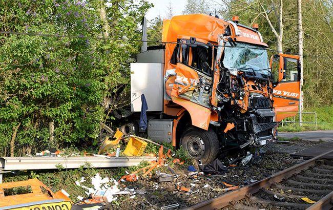 аварія, потяг, німеччина