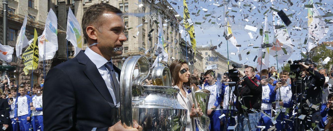 Шевченко потрапив до списку найкращих футболістів планети за останні 25 років