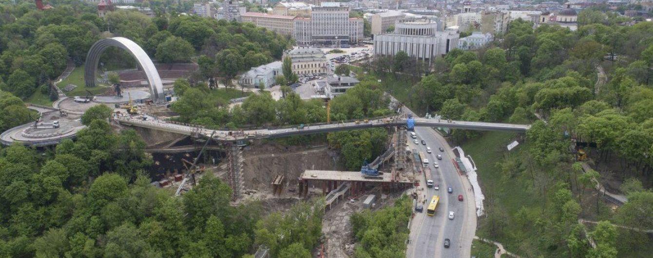 """У КМДА спростовують звинувачення швейцарських архітекторів у крадіжці проекту для """"мосту Кличка"""""""
