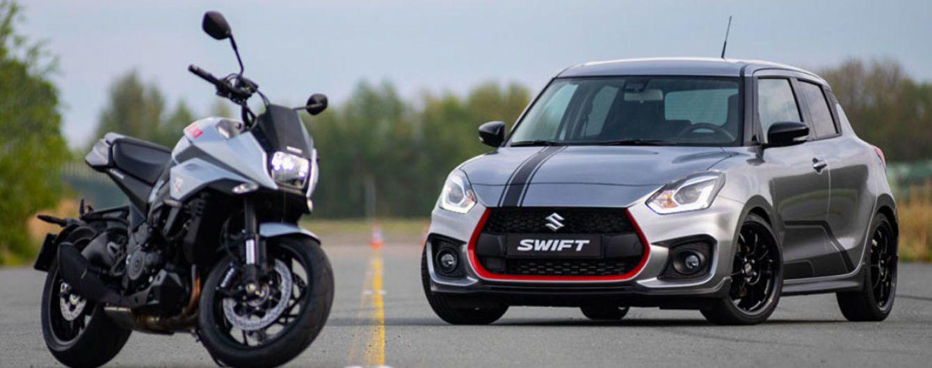 Suzuki выпустила хэтчбек в честь культового мотоцикла Katana