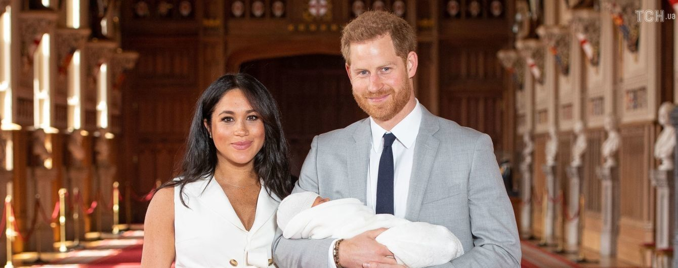 Меган и Гарри впервые показали своего ребенка