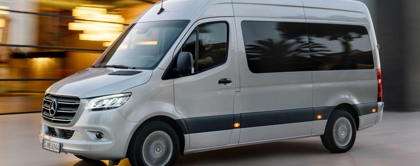 Mercedes потрапив у скандал через обман з фургонами Sprinter