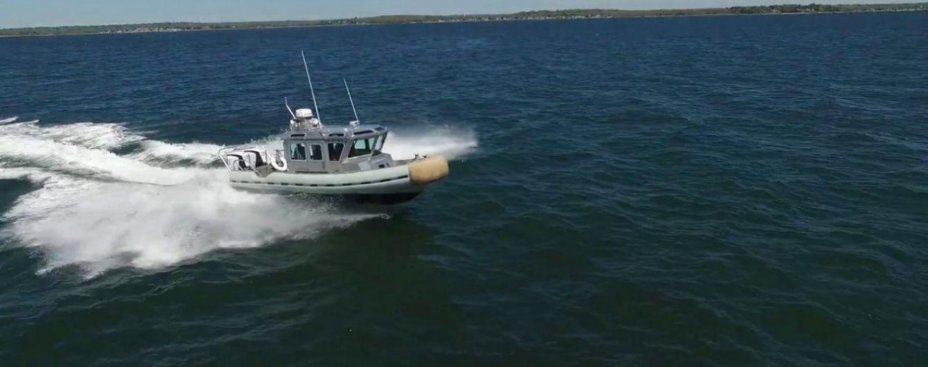 Украинским пограничникам передали новейшие американские катера