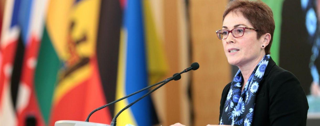 Вашингтон подтвердил увольнение посла США в Украине Йованович