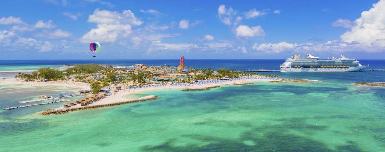 Круизная компания Royal Caribbean для своих гостей откроет частный остров на Багамах