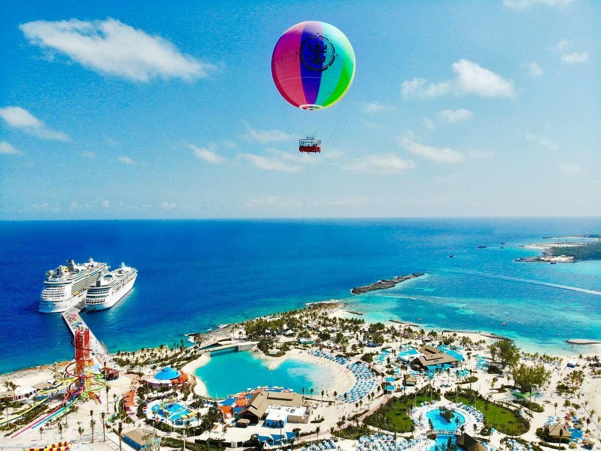 Royal Caribbean частный остров на Багамах