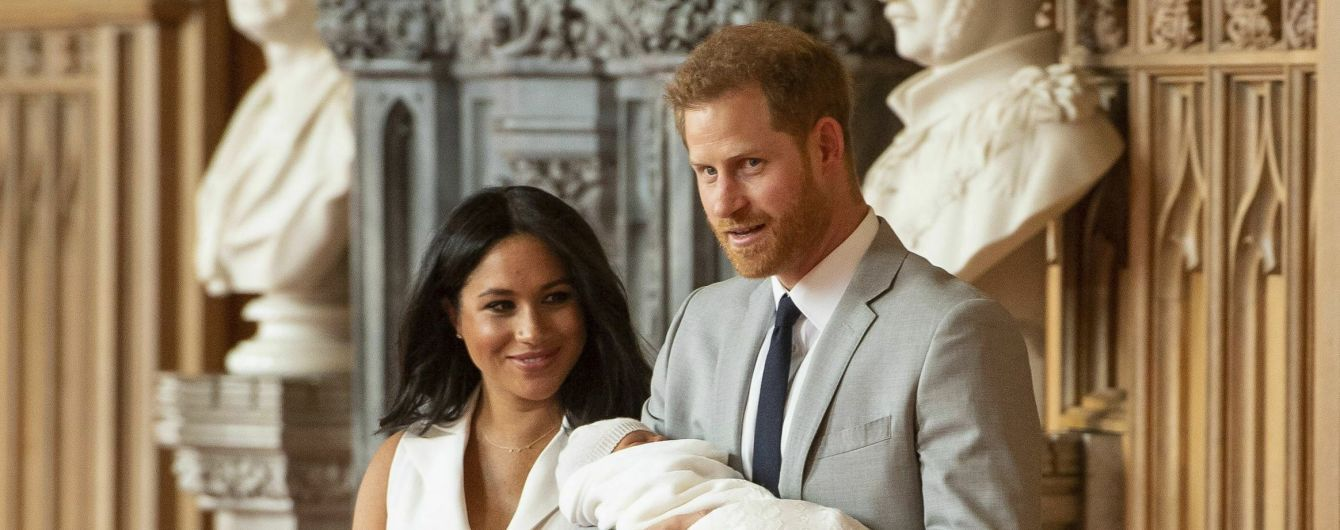 Королева Єлизавета ІІ не відвідає хрестини первістка Гаррі та Меган