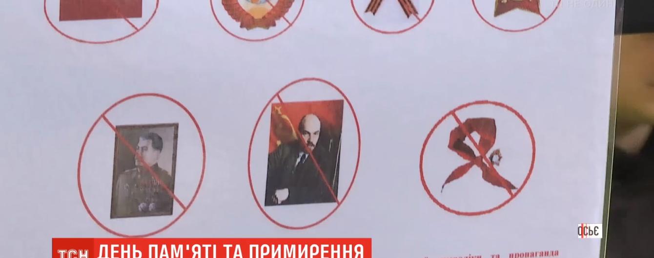 Правоохоронці попередили про кримінальну відповідальність за радянську символіку