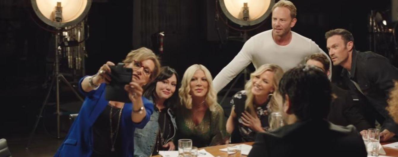 """Телеканал Fox показав прев'ю перезапуску культового серіалу """"Беверлі-Гіллз 90210"""""""