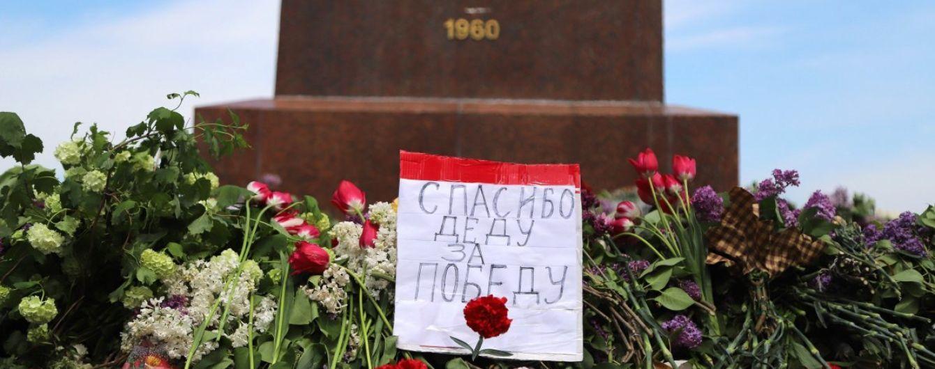 Святкування Дня перемоги над нацизмом: поліція зареєструвала п'ять кримінальних проваджень за використання забороненої символіки