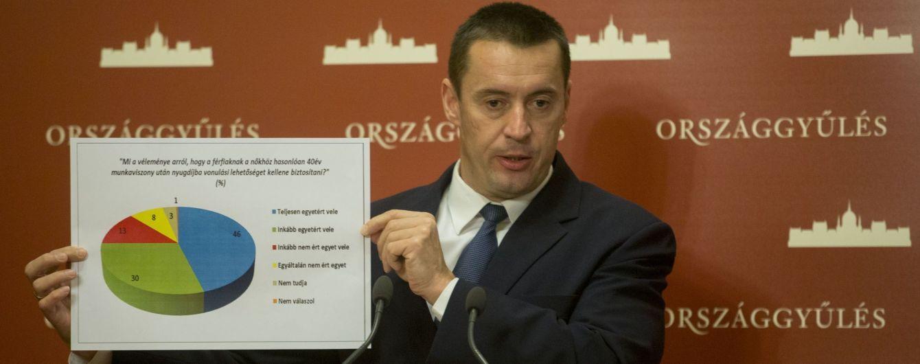 """Лидер правой венгерской партии """"Йоббик"""" посетил Закарпатье и пообещал поддержать автономию региона"""